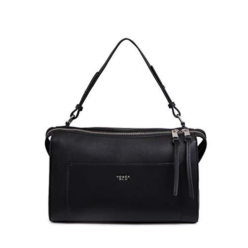 Tosca Blu Anemone bowling bag, One size, Black