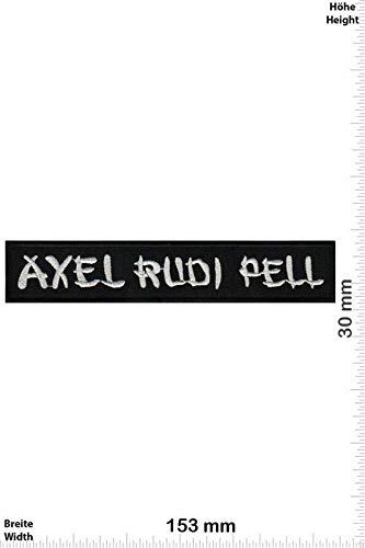 Axel Rudi Pell - Hard-Rock- und Heavy-Metal parche patch bordado con logotipo para planchar de hierro en apliques de recuerdo de accesorios