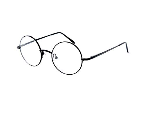 Big Mo's Toys Wizard Glasses - Round Wire Costume Glasses Accessories For Dress Up - 1 Pair