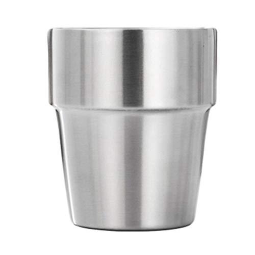 rongweiwang Doble Capa Taza de la Taza 304 de Agua de Acero Inoxidable con Aislamiento Potable Taza de la Botella de Agua con Aislamiento de café Taza de Cerveza vajilla casero