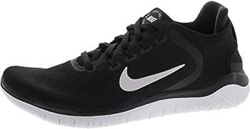 Nike Men s Free Rn 2018 Black/White Running Shoe 9 Men US