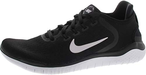 Nike Men's Free Rn 2018 Black/White Running Shoe 11 Men US