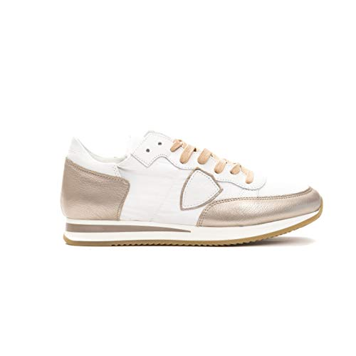Philippe Model Sneakers Tropez L Dmondial Scarpa Made in Italy Donna Rosa TRLDWM (Numeric_39)