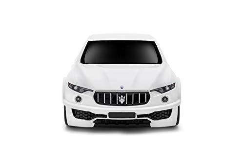 Lightweight Maserati Levante Kids Carry-on Hand Luggage Suitcase- White