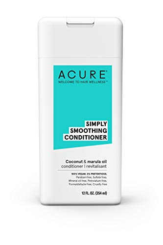 Acure Conditioner Simply Smoothing, Coconut & Marula 12 Oz