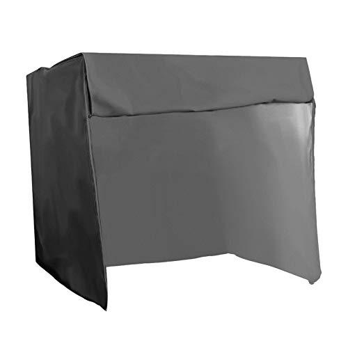 CUTICATE Cubierta Impermeable Resistente para Silla de Patio Columpio Hamaca de Jardín de 3 Plazas - Los 220x125x170cm