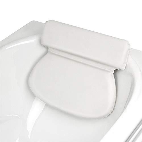 CHENSHJI Oreiller De Bain Support Épaule Cou Oreiller Baignoire Spa Glissement Surépaisseurs Offre Une Expérience Relaxante Oreillers De Baignoire (Color : 2 Pack White)