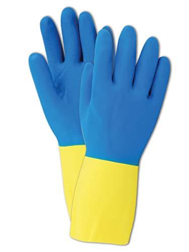 Magid Comfort Flex 738 Neoprene Latex Glove, 12  Length, 28 mils Thick, Size 6  (Pack of 12 Pairs)