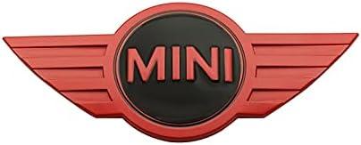 Pegatinas de metal de fibra de carbono de estilo de carbono 3D Pegatinas emblema para Mini Cooper One S R50 R53 R56 R60 F55 F56 R57 R58 R59 R60 R60 Logotipo del emblema del coche ( Color Name : 5 )