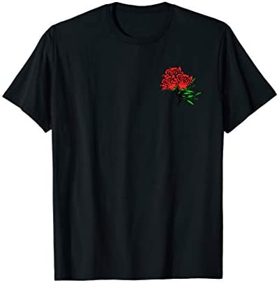 Red Roses T Shirt for Men Women and Youth T Shirt product image