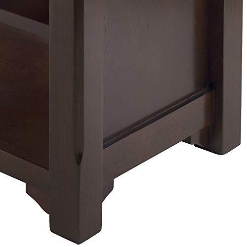 Product Image 3: Winsome Dayton Bench, Antique Walnut
