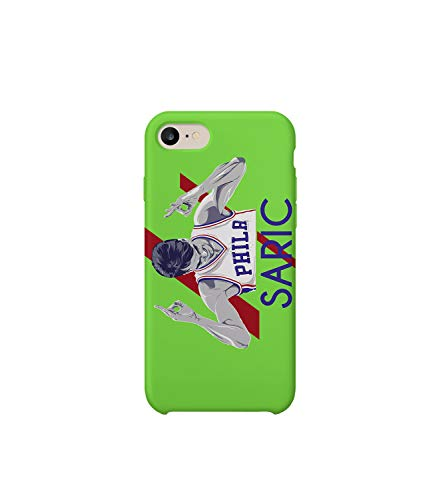 Dario Croatia Basketball Player Fan Art Saric_MA5068 for iPhone 6 6S Plus Protective Phone Mobile Smartphone Case Cover Hard Plastic Funny Gift Christmas