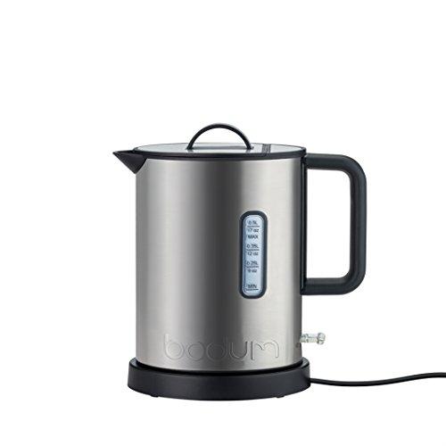 Bodum 11786-57EURO IBIS - Hervidor eléctrico (0,5 L, 720 W), color cromado...