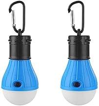 Camping Light, Tent Lamp, Portable LED Tent Light, Clip Hook Hurricane Emergency Lights Camping Tent Lantern Bulb Camping ...