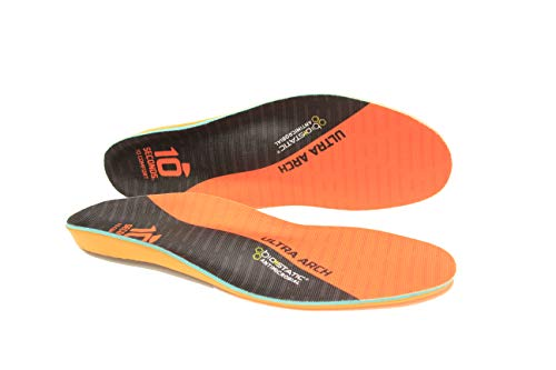10 Seconds 3810 Ultra Support Insoles, M 4/4.5, W 5.5/6, 1 Pair