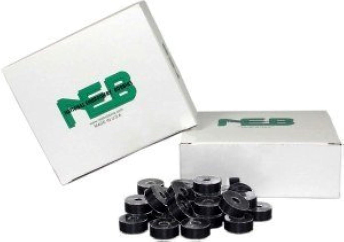 NEB Prewound Embroidery Bobbins Style L BLACK Qty 144