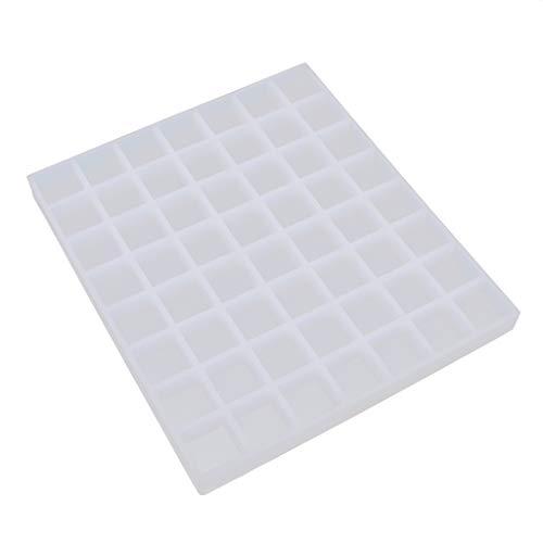 freneci Silikon 56 Gitter Mini Square Ice Cube Tray Maker Pralinen Schimmel Formen