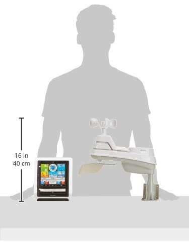 Product Image 2: AcuRite 01036M Wireless Weather Station with Programmable Alarms, Gray
