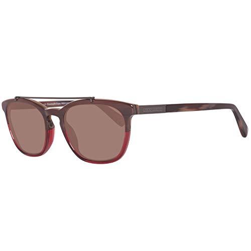 Ermenegildo Zegna Sonnenbrille Ez0044 65J 53 Gafas de sol, Multicolor (Mehrfarbig), Hombre