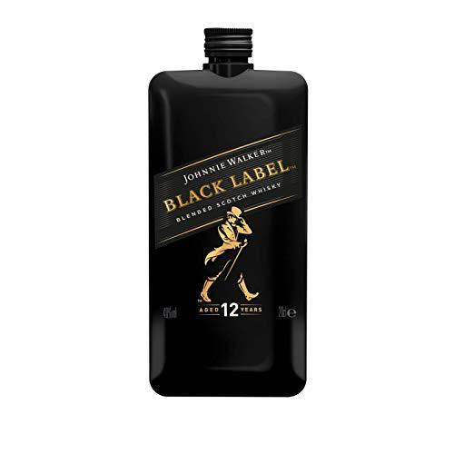 Johnnie Walker Black Label Scotch Whisky Pocket Edition - 200 ml