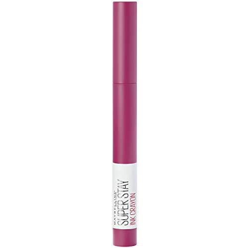 Maybelline New York Lippenstift, Super Stay Ink Crayon, Matt und langanhaltend, Nr. 35 Treat Yourself, 1,5 g