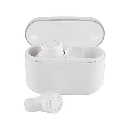 Yowablo Ohrhorer Sport,Mini True Wireless Ohrhörer TWS Bluetooth 5.0 Stereo Kopfhörer HiFi In-Ear Headset ( Weiß )