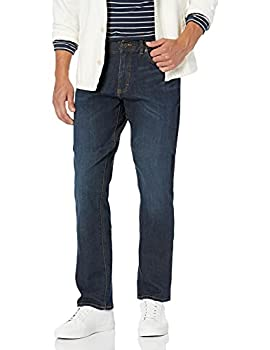 Lee Men s Performance Series Extreme Motion Athletic Fit Tapered Leg Jean Blue Strike 34W x 30L
