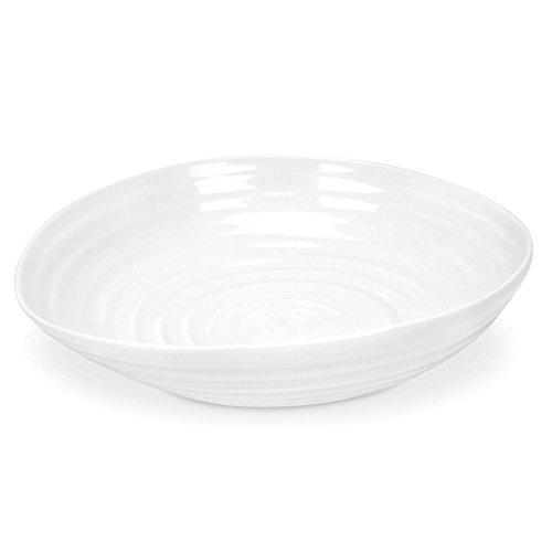 Portmeirion Sophie Conran - Juego de cuencos para pasta (4 unidades), color blanco