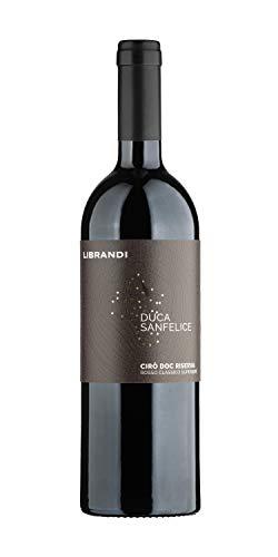Librandi Vino Cirò Rosso Classico Superiore Riserva Duca Sanfelice - 2018-6 Bottiglie da 750 ml