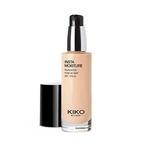 KIKO Milano Instamoisture Foundation 05 - 2R | Base de maquillaje fluida perfeccionadora e hidratante SPF 25