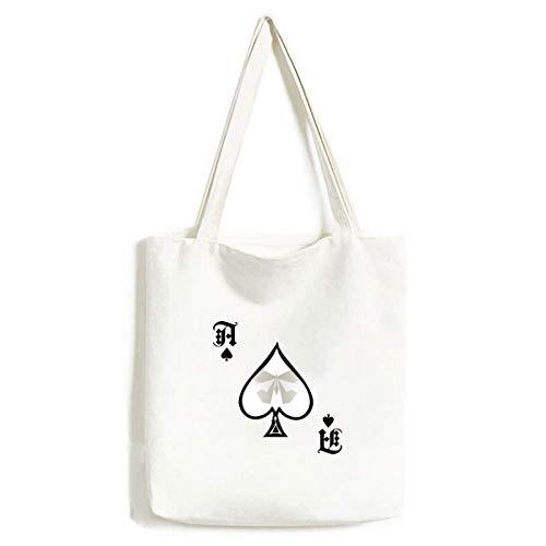 Bolsa de Mano Abstract con diseño de Mariposas Blancas y Origami, para Manualidades, Pala de póquer, Bolsa Lavable
