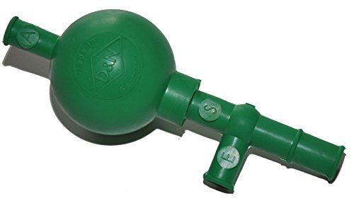 PELEUSBALL Pipettierball ca 10 ml klein Naturkautschuk (standard - 10ml Pipetten, grün)