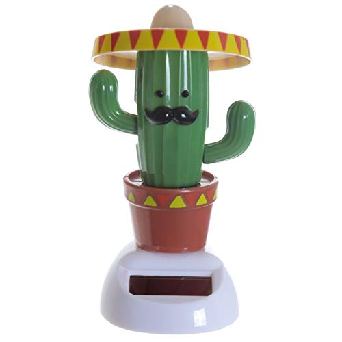 Kaktus mit Sombrero Solarfigur - Kaktus mit Hut Solar Figur