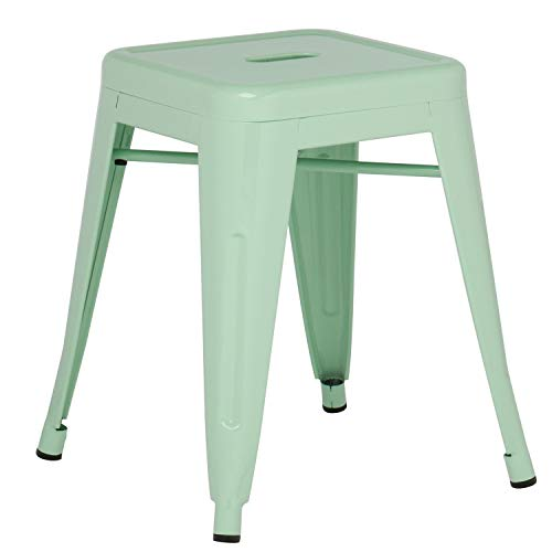 SKLUM Taburete LIX Acero Verde Menta - (Elige Color)