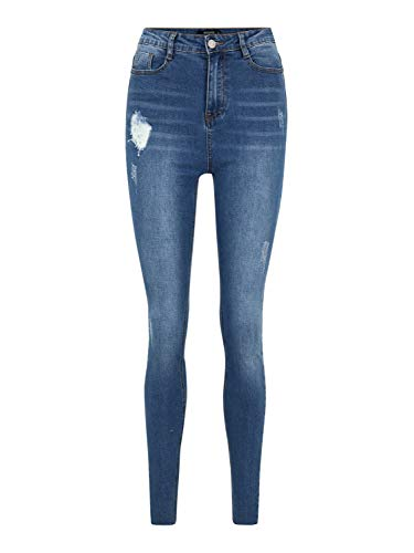 Missguided (Tall) Damen Jeans Sinner blau 10 (29)