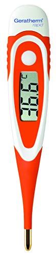 Geratherm rapid Digitales Fieberthermometer mit extra schneller Messung in 9 Sekunden