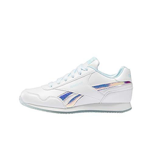 Reebok Royal CLJOG 3.0, Zapatillas de Running Mujer, Blanco/Blanco/DIGGLW, 38.5 EU