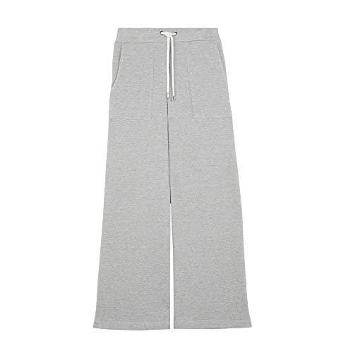 Parfois - Pantalón Ancho De Algodón - Mujeres - Tallas S - Gris