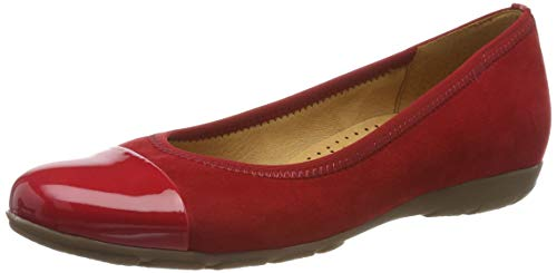 Gabor Shoes Damen Gabor Casual Geschlossene Ballerinas, Rot (Cherry 45), 39 EU
