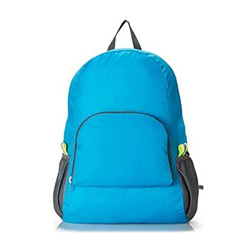 Zaino da viaggio Borsa Per Le Donne Uomini Nylon Moda Escursionismo Impermeabile Casual Daypack Ladies Borsa a Tracolla, Colore: A., L