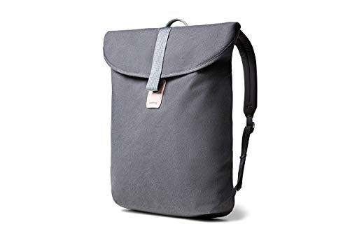 Bellroy Slim Backpack - Google Edition (Compact Daypack, Holds Pixelbook or Laptops Up to 13 Inches, Magnetic Strap Closure) - Slate