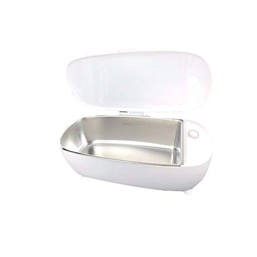 ZXAOYUAN Mini Limpiador Ultrasónico, Lavadora De Vasos, Mini Limpiador De Relojes De Joyería