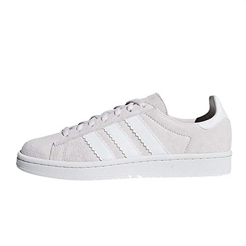 adidas Campus W, Zapatillas de Gimnasia Mujer, Gris (Orchid Tint S18/Ftwr White/Crystal White Orchid Tint S18/Ftwr White/Crystal White), 36 EU