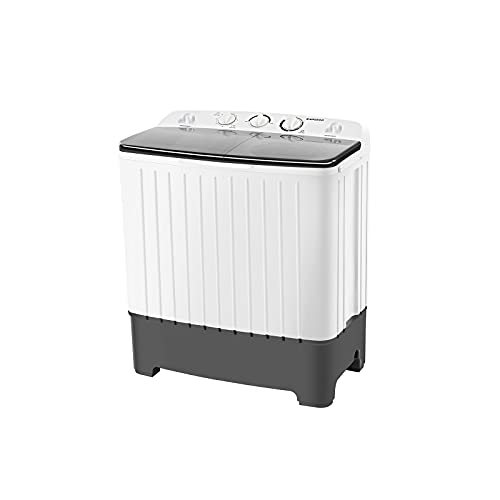 BANGSON Portable Washing Machine, 17.6 lbs Washer(11Lbs) and...