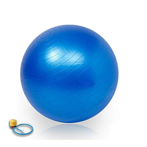 Dsnmm Bälle Gymnastikball Yoga-Ball Gymnastikball Swiss Ball mit Airmp Anti-Burst-Rutschhemmende Yoga Gleichgewicht Stabilität for Pilates Fitness-Training Gymnastikball