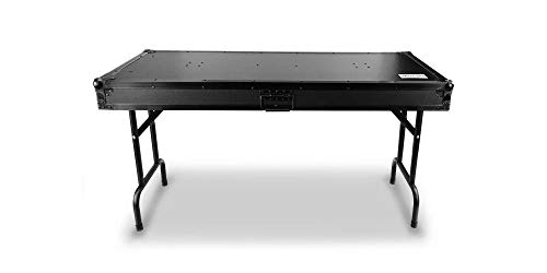 Audibax PRO-TABLE DJ | Mesa Universal para DJ | Maleta para DJ | 2 en 1 Convertible | Especial como Base de Portátil | Mesa Portátil y Maleta | Máxima Flexibilidad | Plegable | Ideal para Traslados