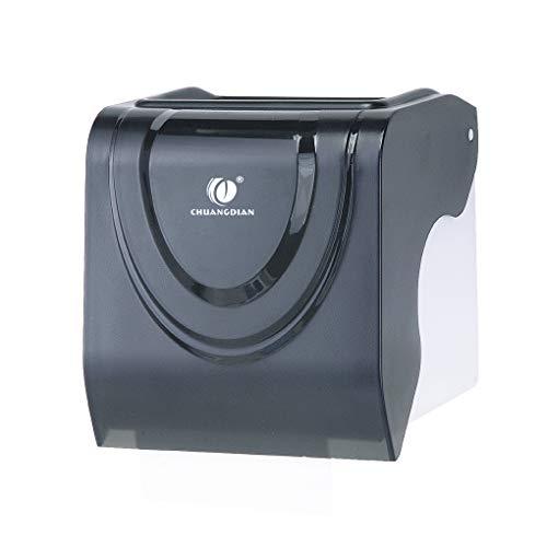 YILONG Toilettenpapierhalter aus Kunststoff Wasserdicht Gewebe-Speicher-Fall-Wandrollenpapier-Zufuhr