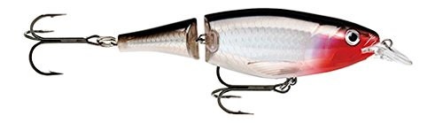 Rapala Unisex-Adult X-Rap Jointed Shad Locken, Silber, 13cm