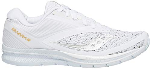 Saucony Women Kinvara 9 Neutral Running Shoe Running Shoes White - Silver 6