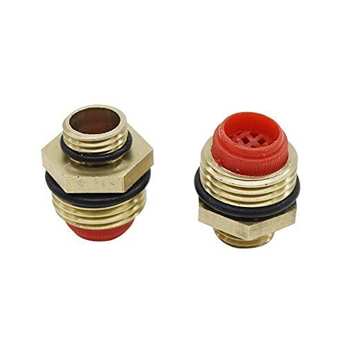 Accesorios a prueba de fugas Brass 1/2'a 1/4' Conector de rociado de hilo de hilo Genible Jardín Sistema de riego de riego Sprinkler Conector Hilo Accesorios de hilo 5 PCS (Color : 4L/H)
